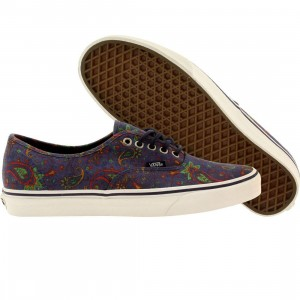 Vans Men Authentic Paisley (blue / medieval blue)
