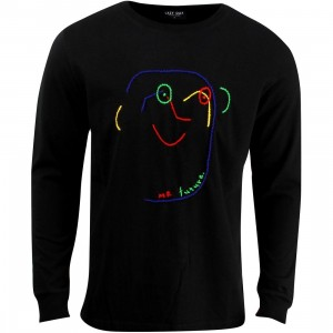 Lazy Oaf Mr Future Sweater (black)