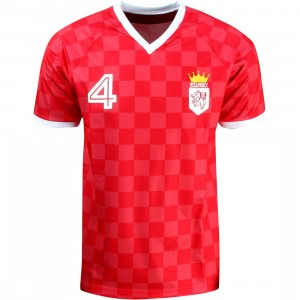 Stussy Soccer Jersey Shirt (red)
