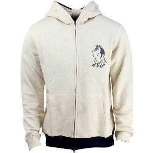 Billionaire Boys Club Samurai Arch Full Zip Hoody (gray / oatmeal)