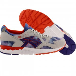Asics Tiger Men Gel-Lyte V (gray / tie dye / dark blue)