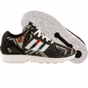 Adidas Women ZX Flux (multi / core black / fttwht)