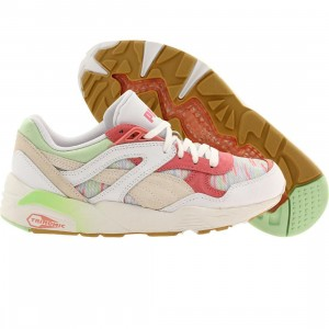 Puma Women R698 Costal (white / patina green pale)