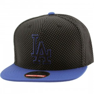 American Needle MLB Los Angeles Dodgers Star Child Snapback Cap (black / gray / blue)