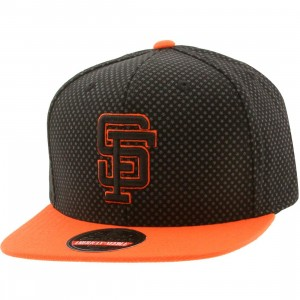 American Needle MLB San Francisco Giants Star Child Snapback Cap (black / gray / orange)