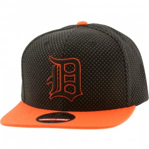 American Needle MLB Detroit Tigers Star Child Snapback Cap (black / gray / orange)