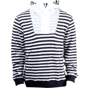 Billionaire Boys Club Men Oceanfront Pullover Hoody (navy / white)