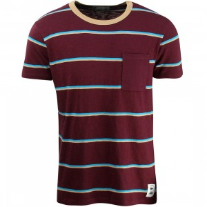 Vans Men JT Basin Pocket Tee (burgundy / port)