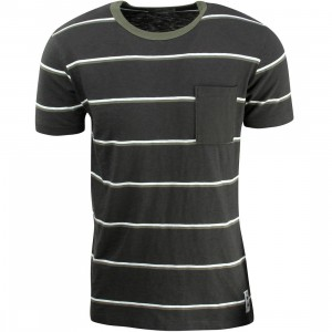 Vans Men JT Basin Pocket Tee (black / pirate)