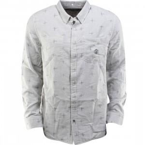 Vans Radcliff Woven Long Sleeve Shirt (gray / graphite nep / ikat)