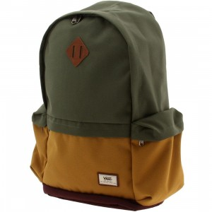 Vans Ashburn Backpack (gray / burgundy)