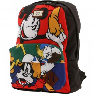 Vans x Disney Old Skool II Backpack - Mickey & Friends (red / black)