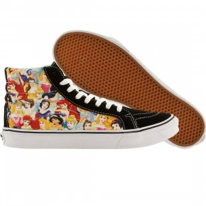Vans x Disney Men Sk8-Hi Slim - Princesses (white / multi)