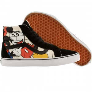 Vans x Disney Men Sk8-Hi Reissue - Mickey and Friends (black / multi)
