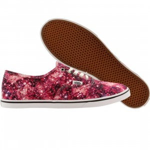 Vans Men Authentic - Cosmic Cloud (black / coral)
