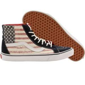 Vans Men Sk8-Hi Reissue - Americana (blue / dress blues)