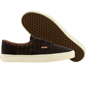 Vans Men Era CA Italian Weave (black / burnt orange)