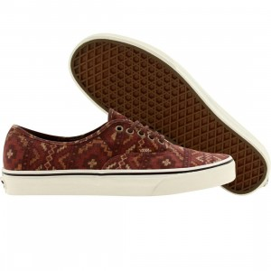 Vans Men Authentic Tribe Rug (red / red clay)