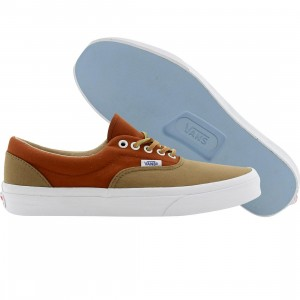 Vans Men Era Ca Brushed Twill (brown / ermine / gngr)