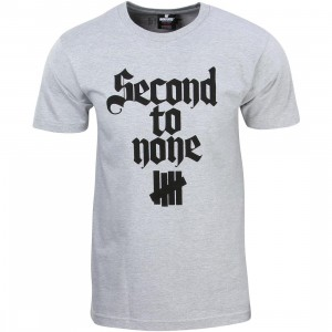 Undefeated Men Second To None Tee (gray / heather)