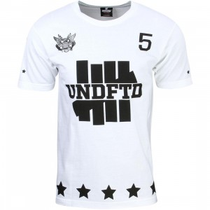 Undefeated Men 5er Tee (white)