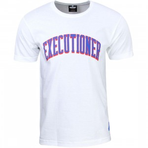 Undefeated Men Executioner Tee (white)