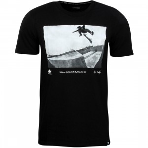 Adidas Skate Men Respect Your Roots Tee - Drake Jones (black)