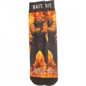BAIT x Street Fighter Nemesis Socks - Akuma (black) 1S