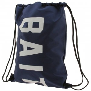 BAIT Logo Nylon Sachet Bag (navy)