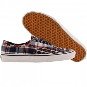 Vans Men Authentic - Mix Plaid (blue / dress / white)