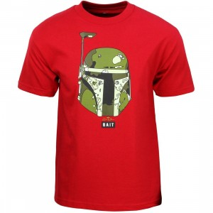 BAIT x David Flores Men Boba Fett Tee (red / cardinal)