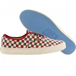 Vans Men Authentic Ca Checker (red / true blue)