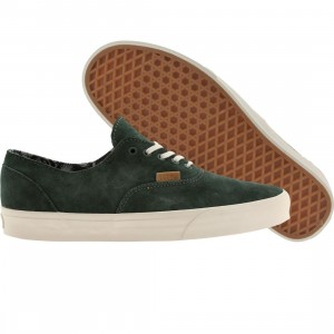 Vans Men Era Decon CA - Pig Suede (green / silver pine)