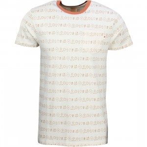 Vans Men Slowpoke Tee (white / brown)