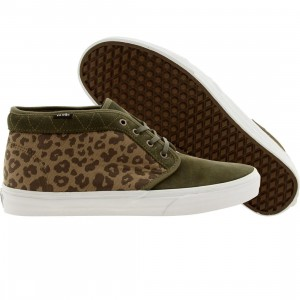 Vans Men Chukka Boot Ca Leopard Camo (olive / grape leaf)