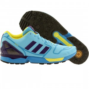 Adidas Men ZX Flux (blue / crcyan / cpurpl / byello)