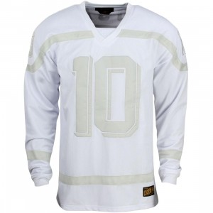 10 Deep Bruiser Mesh Jersey Shirt (white)