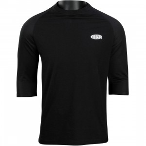 10 Deep Breezy 3/4 Sleeve Tee (black)
