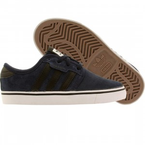 Adidas Skate Little Kids Seeley J (navy / core black / running white)