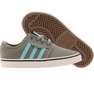 Adidas Skate Little Kids Seeley J (gray / light aqua / core black)