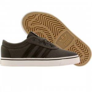 Adidas Skate Little Kids Adiease J (gray / core black / running white)