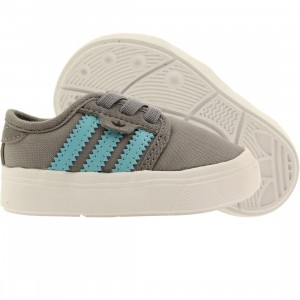 Adidas Skate Toddlers Seeley I (gray / light aqua / core black)