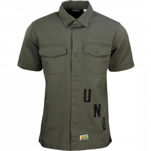 Undefeated Men Exile BDU Short Sleeve Shirt (olive)