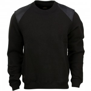 10 Deep Red Tail Crew Sweater (black)