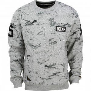 10 Deep Catacombs Crewneck (gray / heather gray)