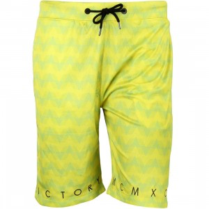 10 Deep Plus Time Short (green / neon)