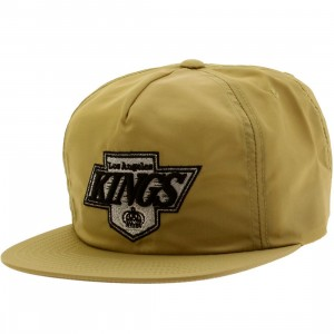 Mitchell And Ness Los Angeles Kings NHL Vintage Forces Adjustable Cap (gold)