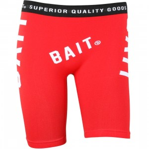 BAIT Men Playmaker Premium Boxer (red / white) 1S