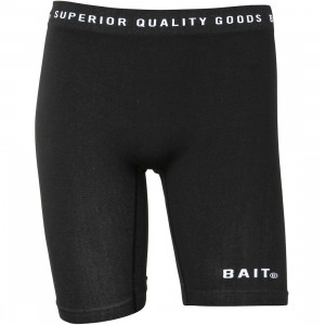 BAIT Men Logo Premium Boxer (black / white)
