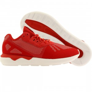 Adidas Men Tubular Runner Weave (red / scarlet / ftwwht)